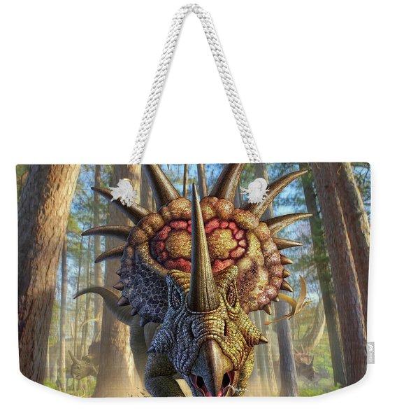 Styracon'roll Weekender Tote Bag