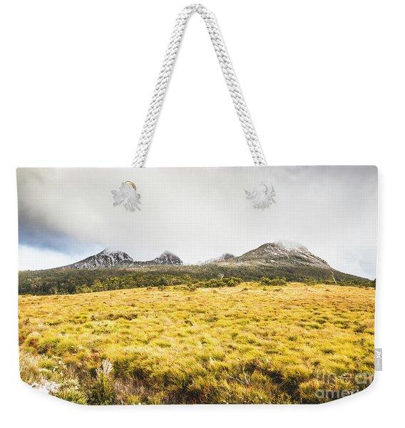 Sub Alpine Range Weekender Tote Bag