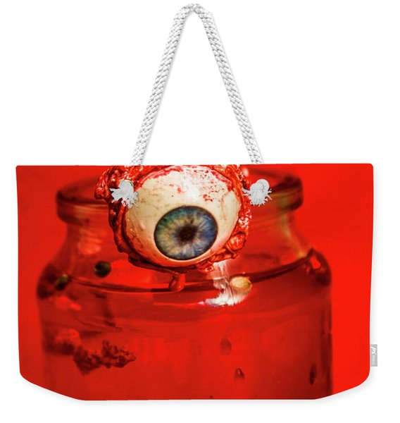 Subject Of Escape Weekender Tote Bag
