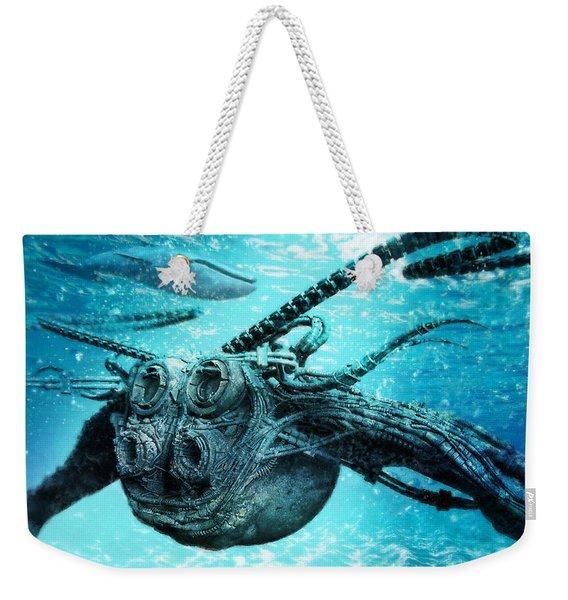 Submarine Weekender Tote Bag