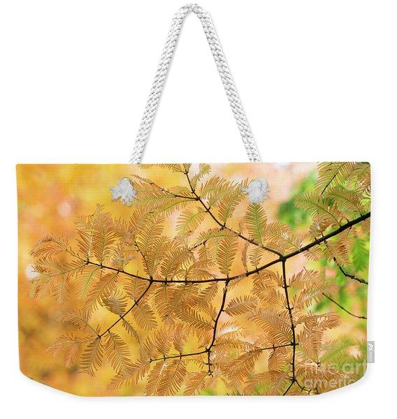 Subtle Shades Of Autumn Weekender Tote Bag