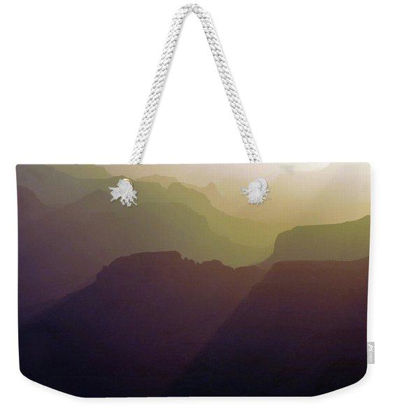Subtle Silhouettes Weekender Tote Bag