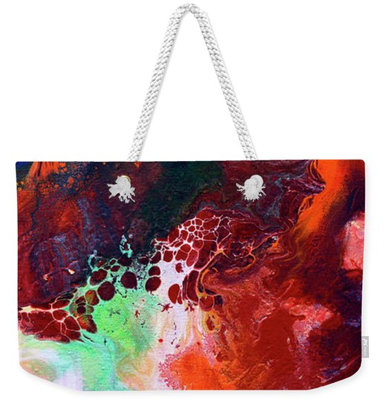 Subtle Vibrations, Canvas Five Of Five Weekender Tote Bag