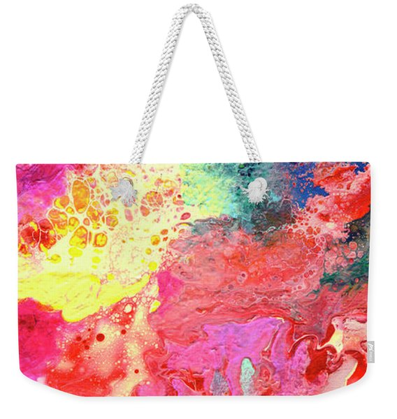 Subtle Vibrations, Canvas Four Of Five Weekender Tote Bag