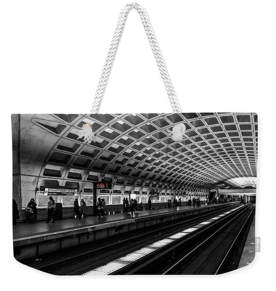 Subway Station Weekender Tote Bag