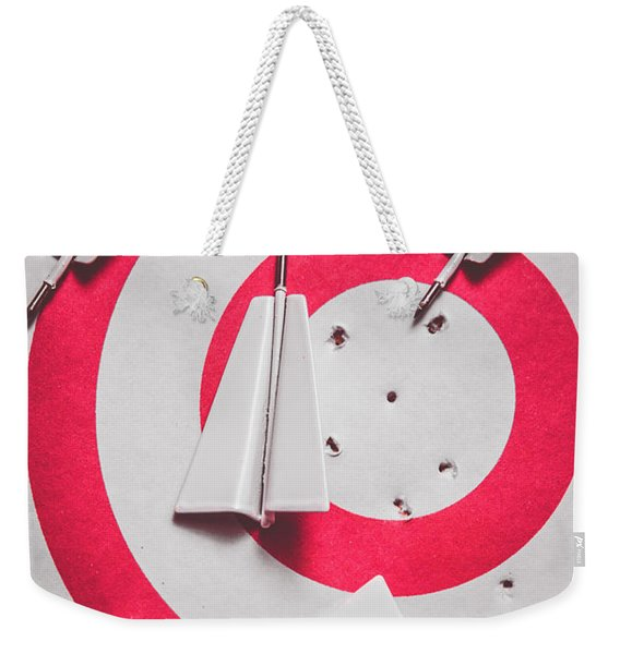Success And Failures. Business Target Weekender Tote Bag