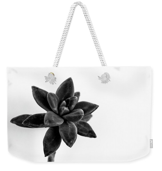 Succulents Flowers Weekender Tote Bag