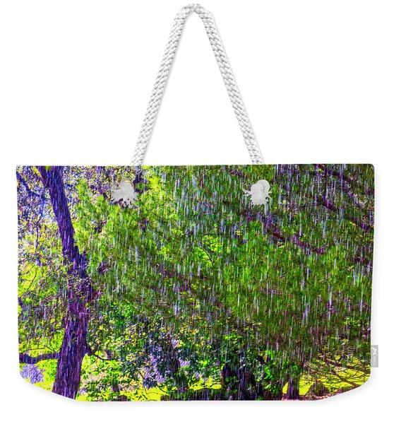 Sudden Downpour Weekender Tote Bag