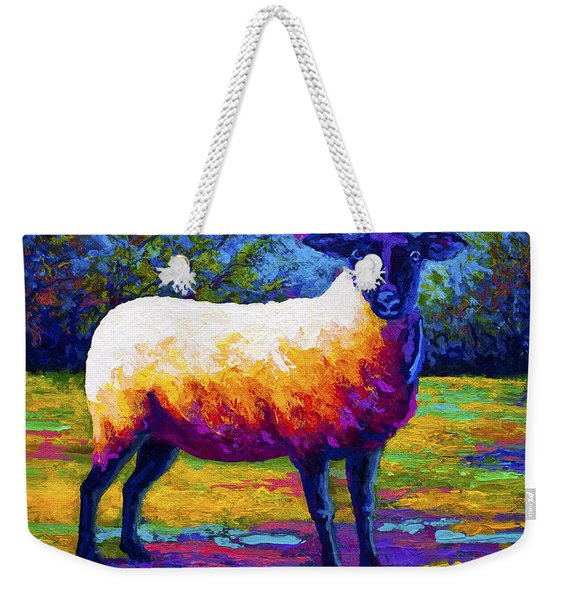 Suffolk Ewe 2 Weekender Tote Bag