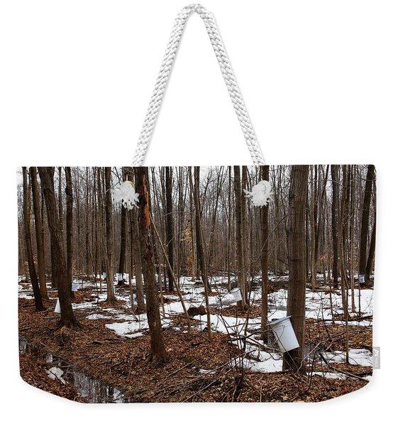 Sugar Bush Weekender Tote Bag