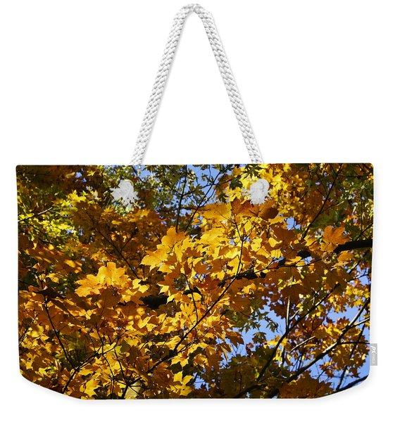 Sugar Maple Weekender Tote Bag