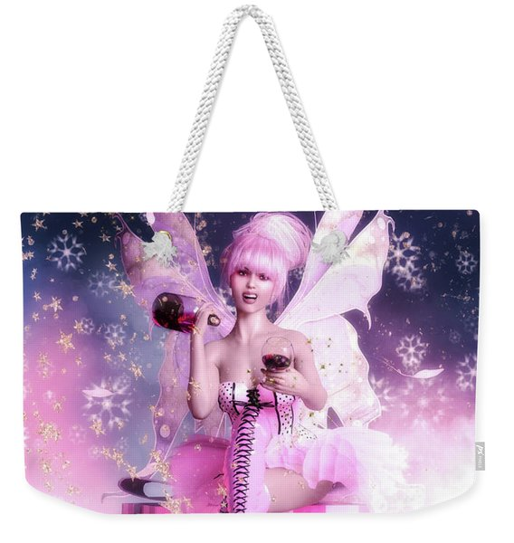Sugar Plum Fairy Weekender Tote Bag