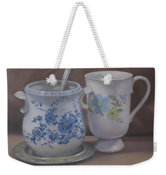 Sugarbowl And Teacup Weekender Tote Bag