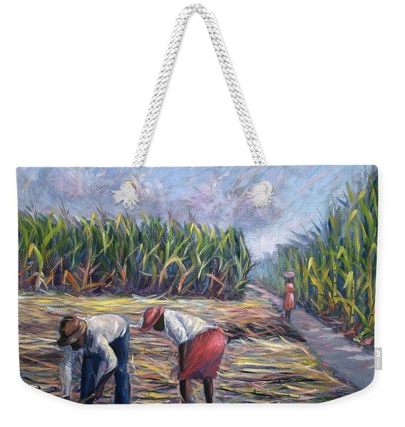 Sugarcane Harvest Weekender Tote Bag