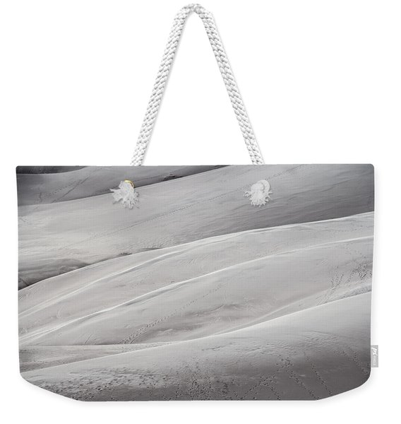 Weekender Tote Bag featuring the photograph Sullied by Laura Roberts
