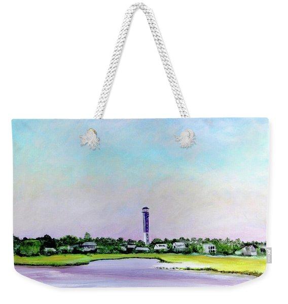 Sullivans Island Lighthouse Weekender Tote Bag