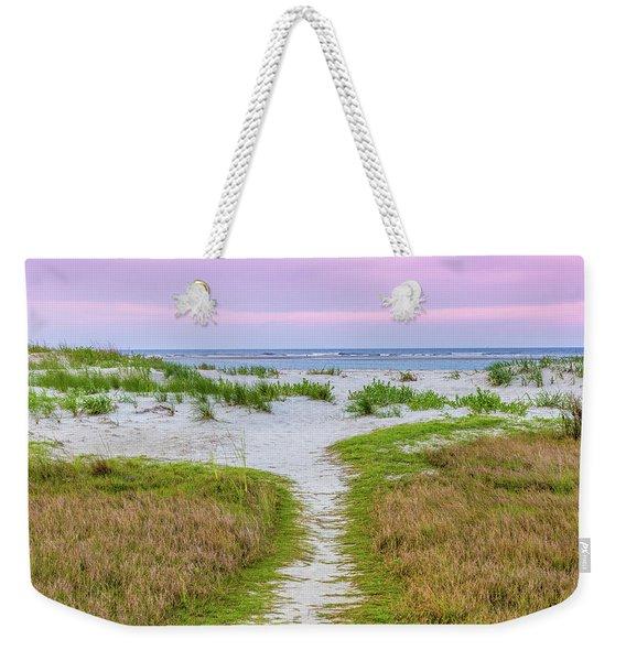 Sullivan's Island Natural Beauty Weekender Tote Bag