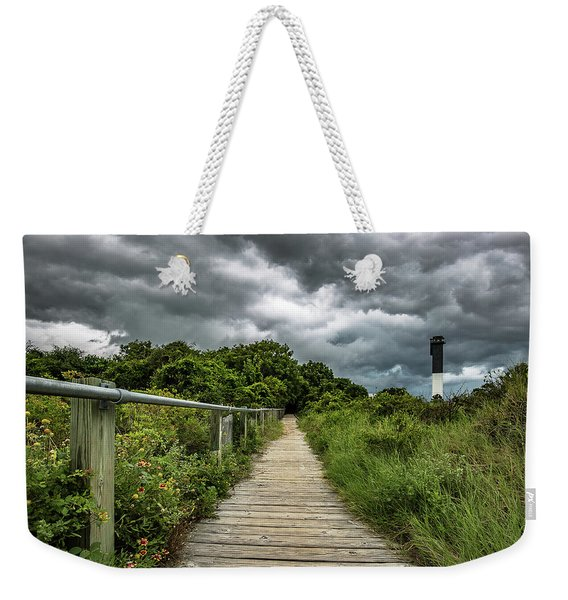 Sullivan's Island Summer Storm Clouds Weekender Tote Bag