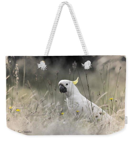 Sulphur Crested Cockatoo Weekender Tote Bag