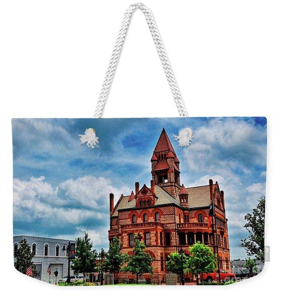 Sulphur Springs Courthouse Weekender Tote Bag