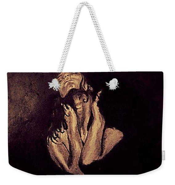 Sultry Woman Weekender Tote Bag