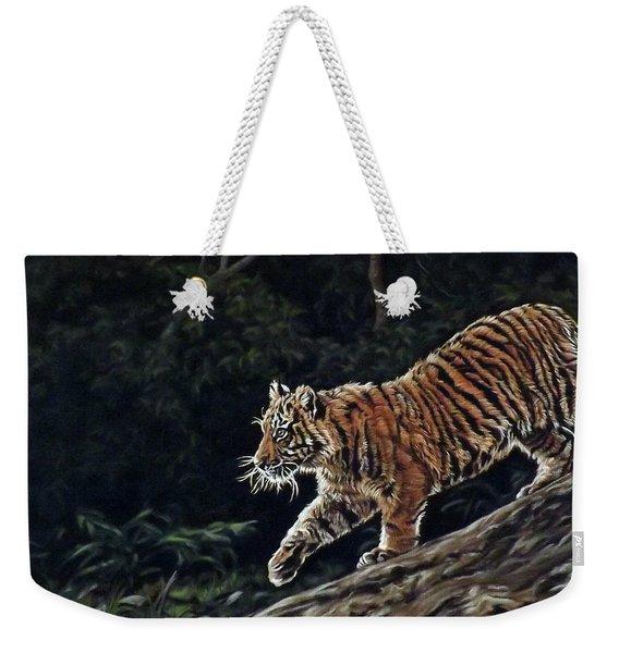 Sumatran Cub Weekender Tote Bag