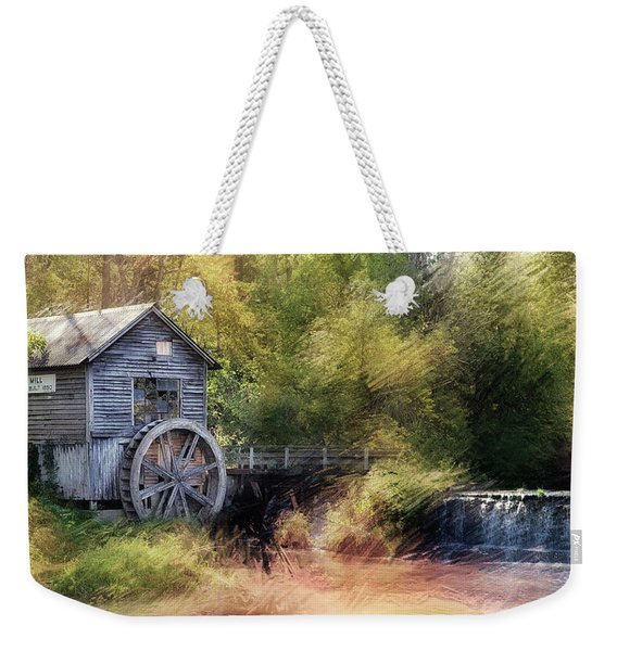 Summer At The Mill Weekender Tote Bag