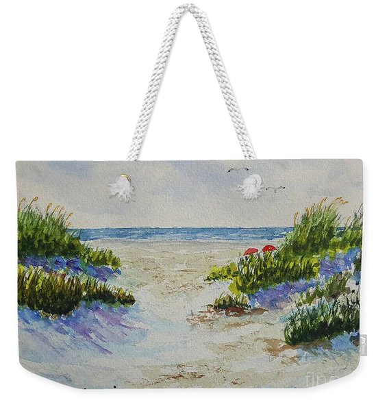 Summer Beach Weekender Tote Bag