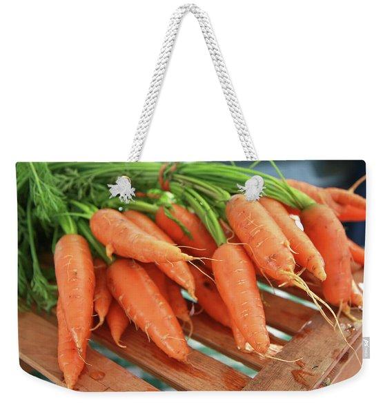 Summer Carrots Weekender Tote Bag