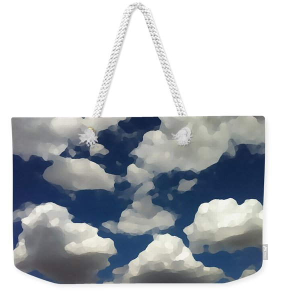 Summer Clouds In A Blue Sky Weekender Tote Bag