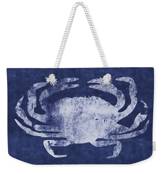Summer Crab- Art By Linda Woods Weekender Tote Bag