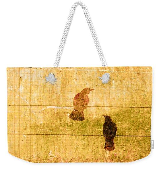 Summer Crows Weekender Tote Bag