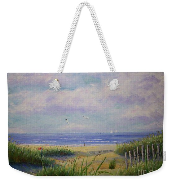 Summer Day At The Beach Weekender Tote Bag