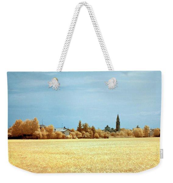 Summer Field Weekender Tote Bag