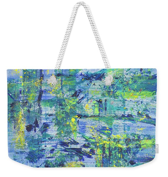 Web Of Life  Weekender Tote Bag