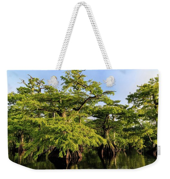 Summer Greens Weekender Tote Bag