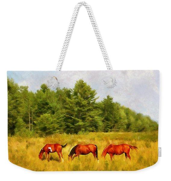 Summer Hay Burners Weekender Tote Bag