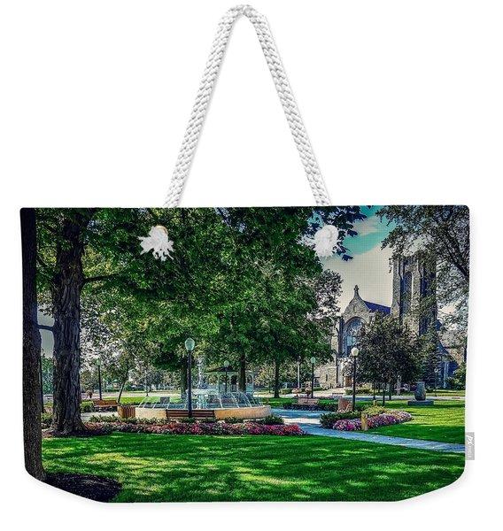 Summer In Juckett Park Weekender Tote Bag
