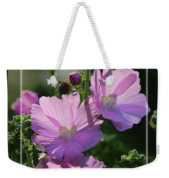 Summer In Pink - Framed Weekender Tote Bag