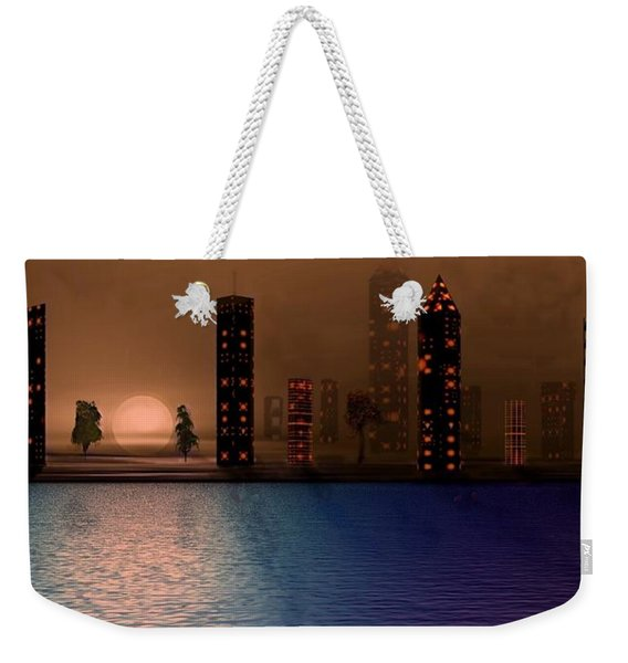 Summer In The City Weekender Tote Bag