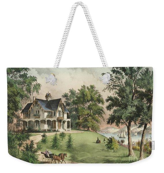Summer In The Highlands, 1867 Weekender Tote Bag