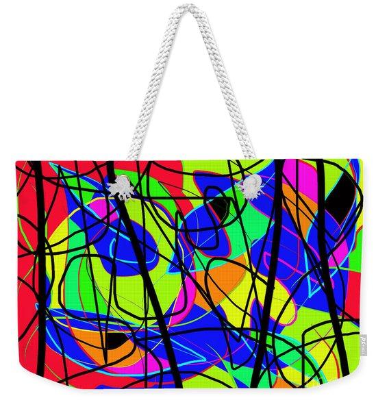 Summer In Town Weekender Tote Bag