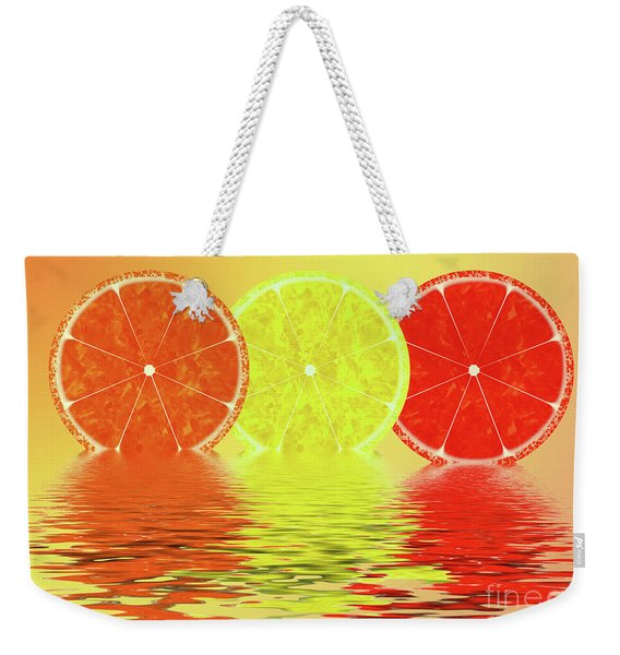 Orange,lemon,blood Orange Weekender Tote Bag