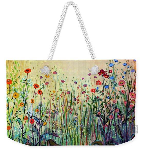 Summer Joy Weekender Tote Bag