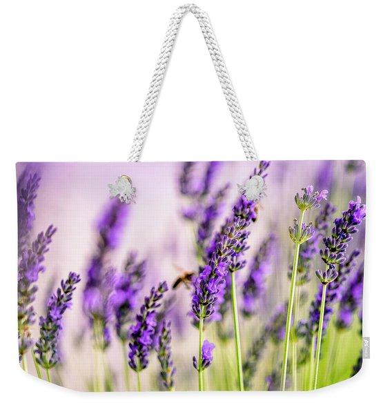 Summer Lavender  Weekender Tote Bag