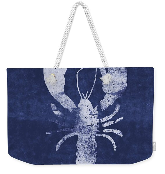 Summer Lobster- Art By Linda Woods Weekender Tote Bag