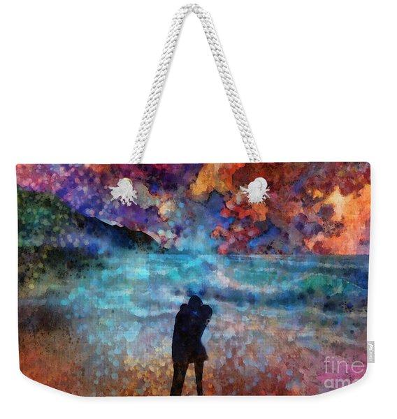 Summer Love Weekender Tote Bag