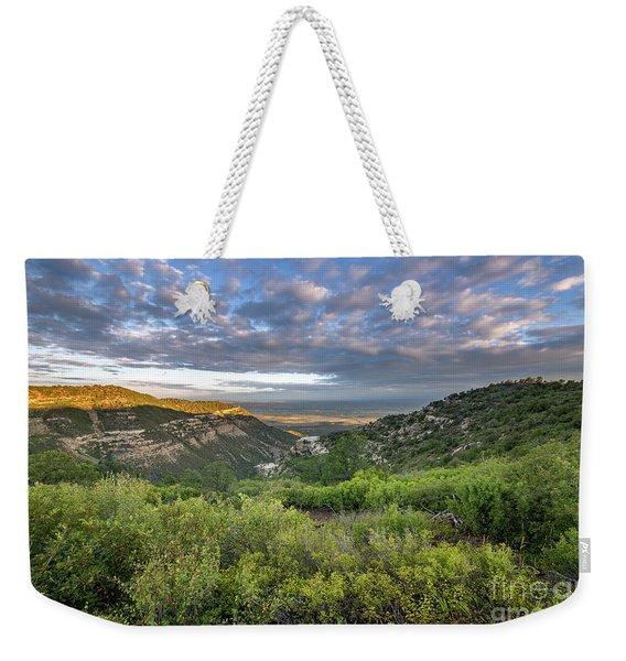 Summer Morning In Mesa Verde Weekender Tote Bag