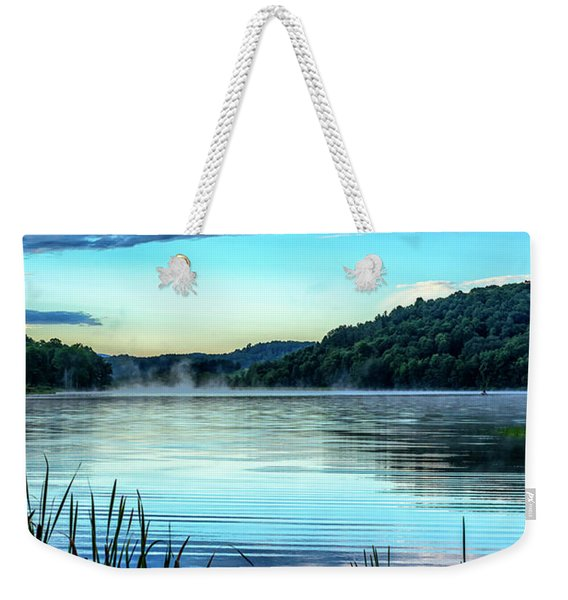 Summer Morning On The Lake Weekender Tote Bag