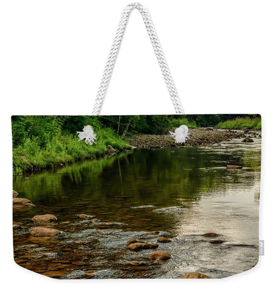 Summer Morning Williams River Weekender Tote Bag